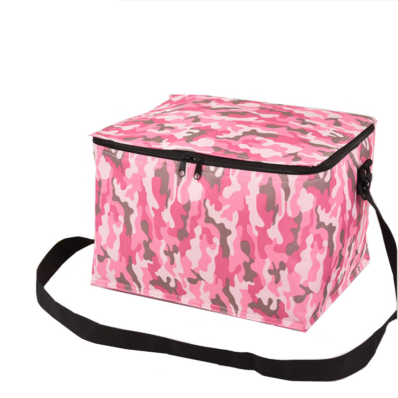 Portable Thermal Lunch Bag Food Cooler Boxes Insulated Bag Refrigerator Storage Container Of Refrigeration Camping Picnic Bag