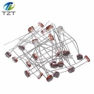 Image 3 - 1000 Uds LDR Resistor fotosensible fotoeléctrico fotorresistencia 5528 GL5528 5537, 5506, 5516, 5539, 5549 para Arduino