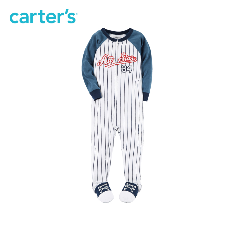 Carter's 1pcs toddler 1-Piece Snug Fit Cotton PJs 341G371,sold by Carter's China official store carter s 3pcs baby children kids 3 piece babysoft footed pant set 126g315 sold by carter s china official store
