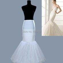 В плюс размер один/1 обруч Нижняя юбка Слип кринолин Для Русалка Свадебные платья Нижняя юбка для женщин
