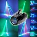 Incrível Auto/Sound Active 64 LEDs RGBW Luz de Discoteca luz Do Clube festa Show de Centenas de Padrões Dj Casamento Bar Partido Fase luzes