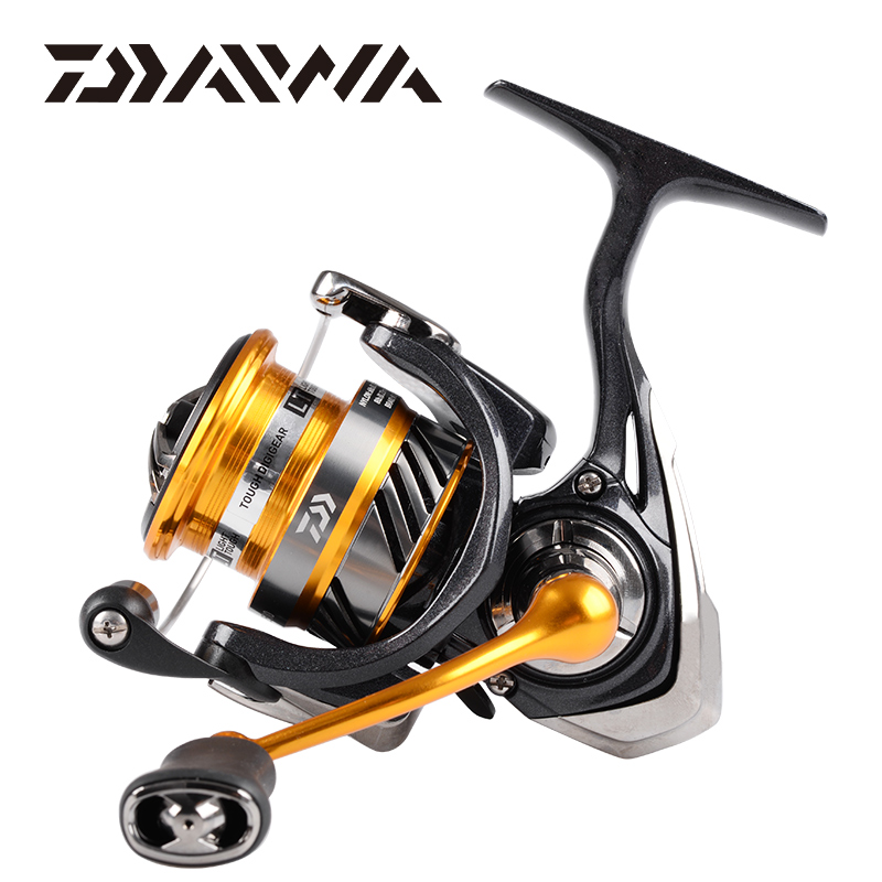 2019 Original DAIWA REVROS LT Spinning Fishing Reel 1000/2000/2500/3000/4000/5000/6000 Gear Ratio5.1:1/5.2:1/5.3:1 4+1BB 5~12KG