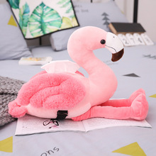 Home Car Tissue Box Holder Pink Flamingo Cover Cute Armrest Case Dispenser Plush Girls Room Decor Toy