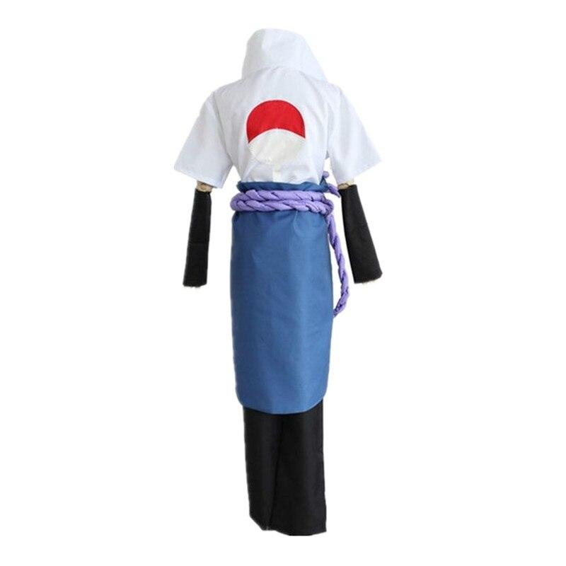 Naruto Uchiha Sasuke Cosplay Costume Third Fourth Generation Kimono Full Set