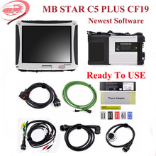 MB Star C5 with Military CF 19 Toughbook Star Diagnosis c5 Newest HDD for MB Star
