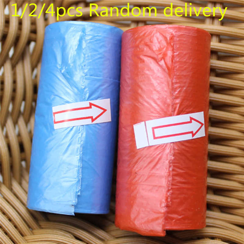 1/2/4pcs New Brand Baby Diaper Nappy Disposable One-time Use Rubbish Bag Portable Plastic Diaper Bags Travel Nappy BagsRetail