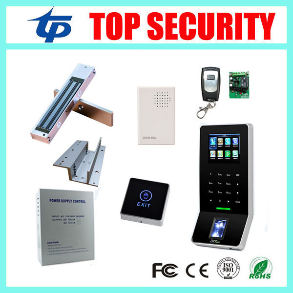 Fingerprint access control system ZK F22 WIFI TCP/IP door control system biometric fingerprint door access controller tcp ip biometric face recognition door access control system with fingerprint reader and back up battery door access controller