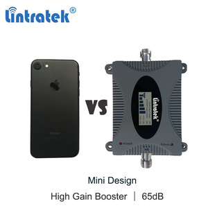 Image 2 - Lintratek 4G Lte 1800Mhz Dcs Mobiele Telefoon Signaal Booster Gsm 1800 B3 Repeater Lcd Internet Call Cellulaire Versterker geen Antenne Dd