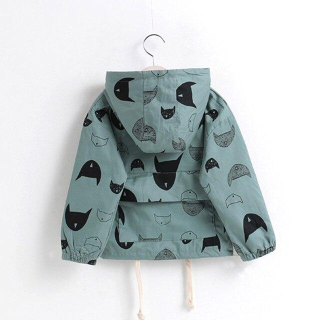202b179d88fe Boys Batman Cartoon Jacket Children Long Sleeve Zipper Coats Girls ...