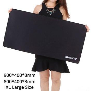 KKmoon 900*400*3 мм L/XL Большой размер игровой коврик для мыши простой Расширенный нескользящий игровой коврик для мыши Настольный коврик для lol ...