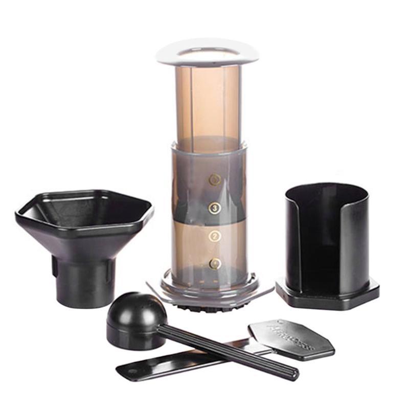 Portable Pressed Coffee Pot Coffee Filter Hand Pressure Coffee Machine B8 coffee maker cafetera espresso machine