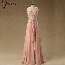 Vnaix PS04 Prom Dresses Cheap Sweetheart Lace up Back Prom Dresses vestidos de foesta largos de atras Long Prom Dresses
