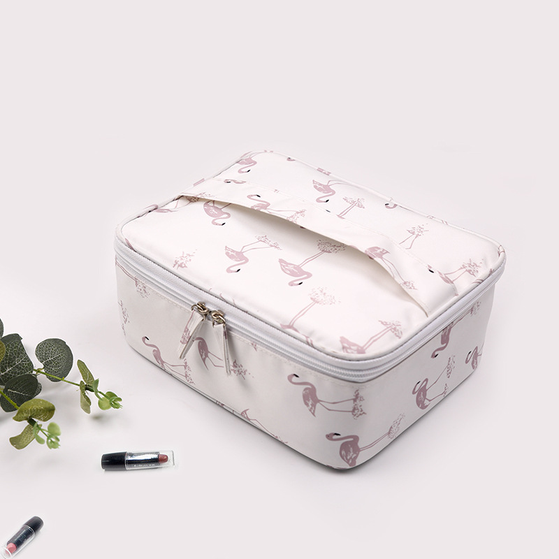 Travel Foldable Cosmetic Bag Woman Portable Make Up Waterproof Bags Ladies Adjustable Sport Yoga Fitness Jogging Swimming Bags in Swimming Bags from Sports Entertainment