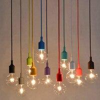 Creative Minimalist Modern Dining Room Retro Industrial Style Cafe Bar Desk Lamp Single Head Edison Bulb