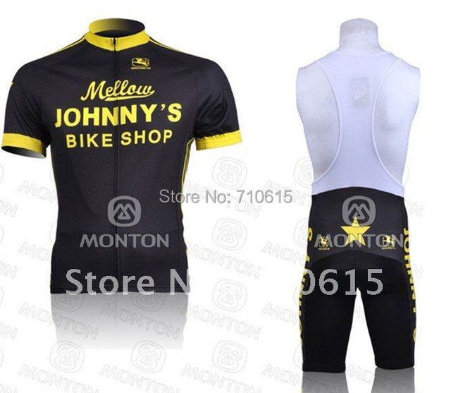 Free shipping!2011 Mellow Johnny s Bike shop cycling jersey and bib shorts short  bicycle wear Ciclismo jersey((accept customize) 96ae9c167