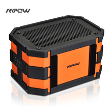 Mpow MBS5 Bluetooth Speaker Portable Wireless with Extral 1000 mAh Emergency Power Bank for Outdoor