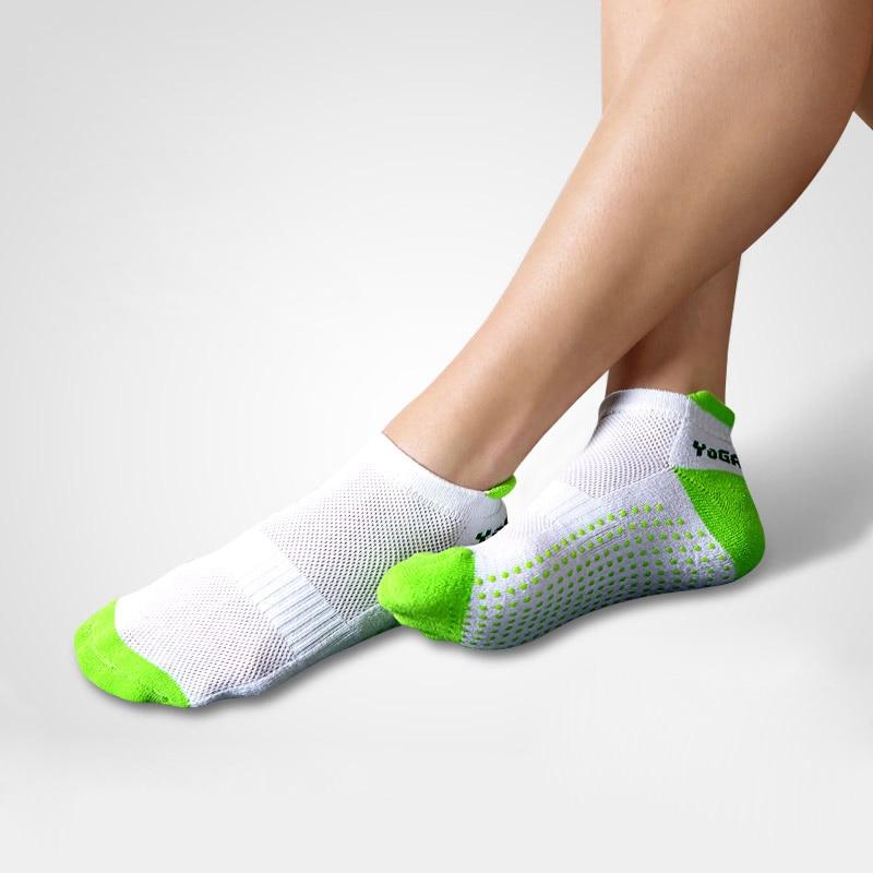 Professional Five Toe Socks Fitness Yoga Socks Five Fingers Antiskid Backless Soft Cotton Non-Slip Sports Socks 6 colors yoga grip socks non slip full toe socks