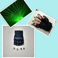 XD4-2-3 Palm свет Диско dj лазерные перчатки/2 зеленый/2 Фиолетовый цвет съемный 4 шт. лазерных головок/бальные танцы костюмы бар носит