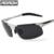 Aoron Óculos UV400 Óculos de Sol Dos Homens Polarizados Para A Condução de Carro de luxo Da Marca Esporte Masculino Original Famosos Óculos de Sol de Revestimento Espelho Eyewear