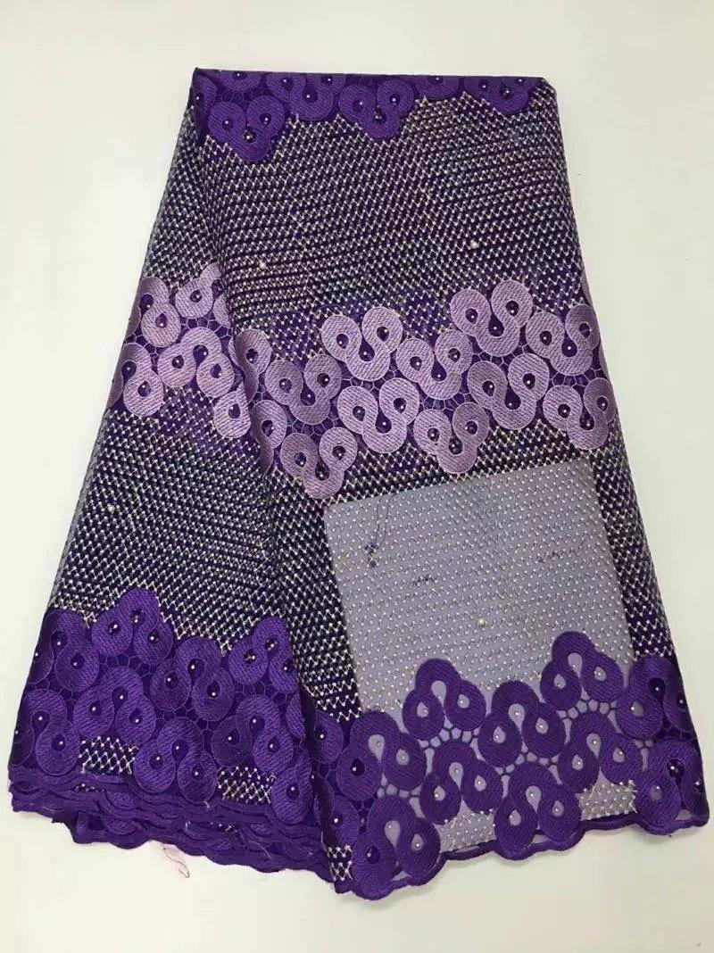 Derniers lacets africains de haute qualité Tulle tissu lacets dentelle nigériane français cordon dentelle tissu pour les femmes robe j25f8d-2