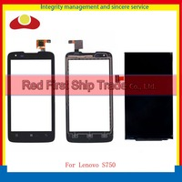 High Quality 4 5 For Lenovo S750 Touch Screen Digitizer Sensor Lens Glass Panel Black S750