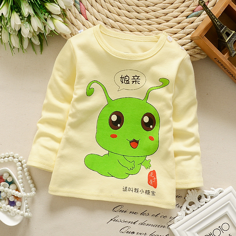 2017 new new baby for men and women baby trend T sleeve shirt clothing spring and autumn season cartoon animal rabbit