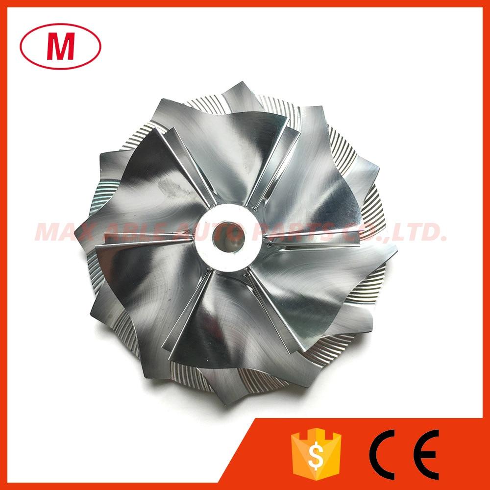 CT26 53,11/70,98 мм 6 + 6 лезвий высокопроизводительное турбокомпрессорное колесо/алюминиевый 2618/турбокомпрессорное колесо