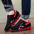 2016 NEW Fashion Men Casual Shoes Men's Flats Shoes Men Sport Breathable Zapatillas Casual Shoes Size EUR:39-44