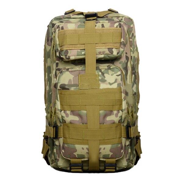 Outdoor Army Backpack Rucksacks Camping Hiking Trekking Bag 30L black/cp color/desert ditital/jungle camouflage/jungle digital adding value to jungle trekking through human capital