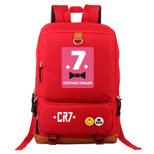4a6522f7a7 Women Girls Cristiano Ronaldo CR7 Backpack Student School Travel Bag Laptop Bag  Football Fans Gifts(