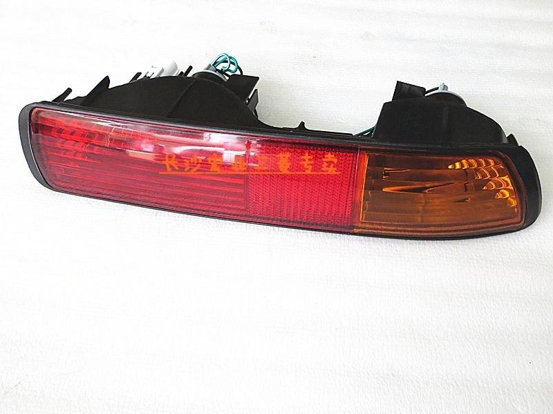 Osmrk заднего указателя поворота, заднего бампера свет, задний противотуманный фонарь, стоп-сигнал сигнальная лампа для Мицубиси Паджеро личности v73 2001-03 одна пара