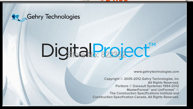 US $209 0  Gehry Technologies Digital Project V1R5 SP2 English 32+64 bit  version on Aliexpress com   Alibaba Group