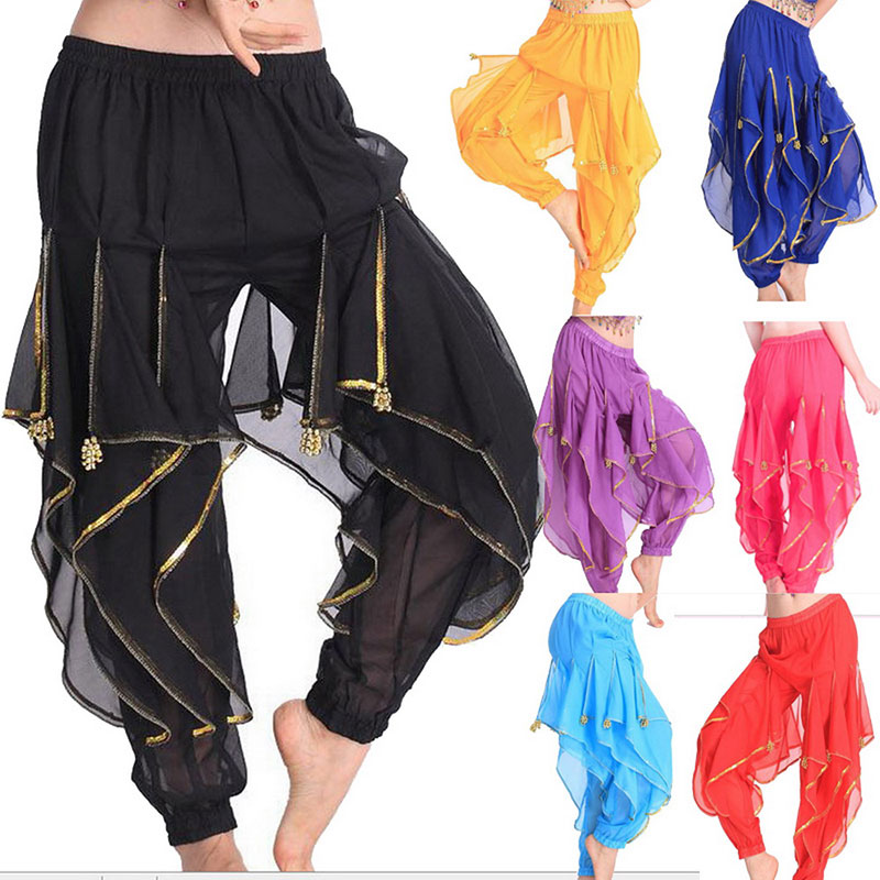 Egypt Bollywood 8 Colors Belly Dancing Skirts Swing Skirt Belly Dance Pants Professional Costume India Belly Dance Pant