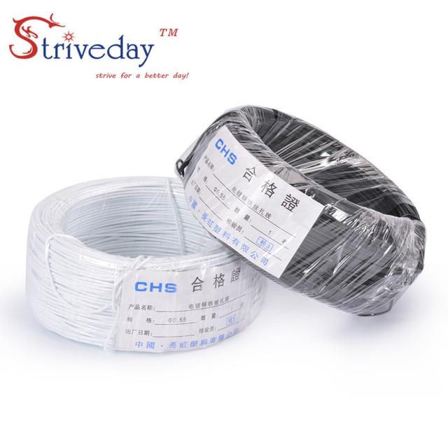 90m / rolos 0.55 White Black Galvanized iron wire Sizha Plastic ...