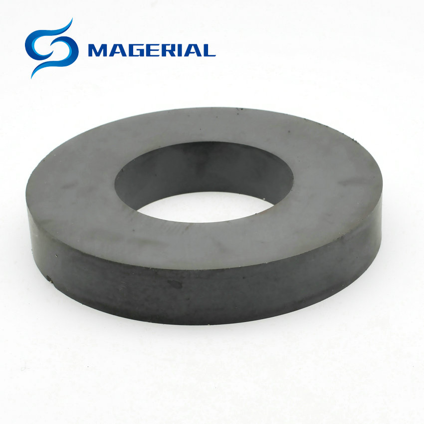 Ferrite Magnet Ring OD 100x60x10 /15/20 mm 4 large C8 Ceramic Magnets for DIY Loud speaker Sound Box board Subwoofer Levitation 2pcs ferrite magnet ring od 70x32x15 mm for subwoofer c8 ceramic magnets for diy loud speaker sound box board home use