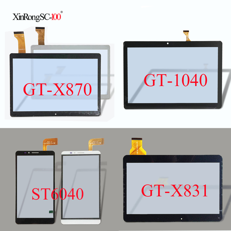 For Ginzzu GT-X870/GT-1040/ST6040 ST 6040/GT-X831/GT-8005 3G/GT-7105/GT-1035 3G/GT-7020 GT-7030 Touch screen Panel Digitizer ginzzu gt 8005