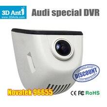 Nueva Actividad FHD 1080 P mini registrador Del Coche DVR de La Cámara para Audi A1 A3 A4L A5 A6L A7 Q3 Q5 teléfono móvil de Control Wifi Incorporado APP