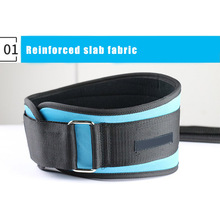 Men Waist Support Belt Adjustable for Deep Squat Weight Lifting Sports Training FI-19ING недорого