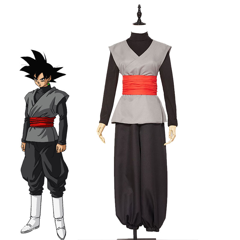 Anime Dragon Ball Super Son Goku Black Zamasu Kai Cosplay Costume Halloween Carnival Outfit Super Saiyan Uniforms Custom Made