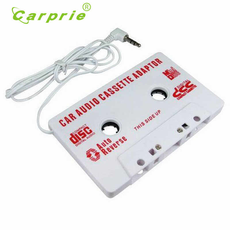 3.5mm Car Stereo Cassette Tape Adapter For iPhone For iPod MP3 Audio CD Player Car-styling June28