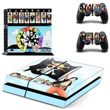 One Piece Playstation Ps4 Skin Cover