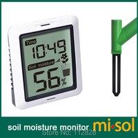 MISOL/1 einheit von Boden feuchtigkeit monitor drahtlose batterie angetrieben  drahtlose boden feuchtigkeit mit display