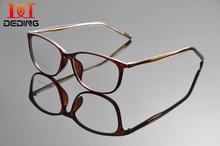 deding tortoise thin plastic frame clear lens eye glasses frame new designed women transparent frame glasses 54mm dd1278