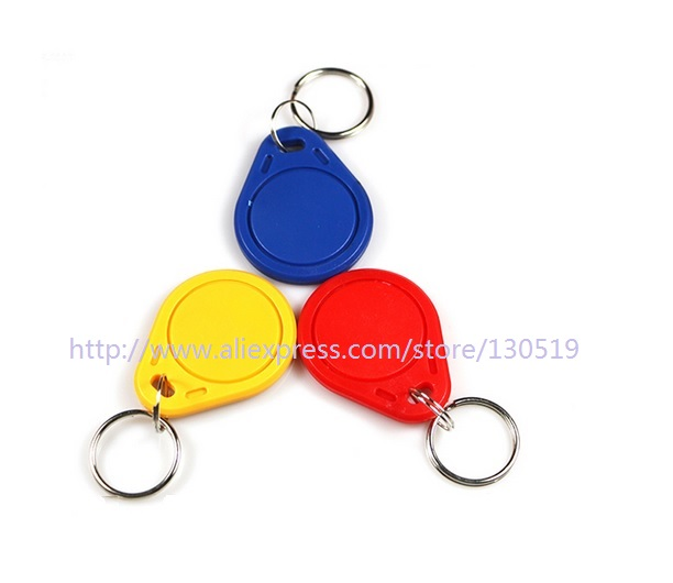 купить EM4100 125khz rfid keyfob Proximity ID Token Tag Key for access control Arduino по цене 116.18 рублей