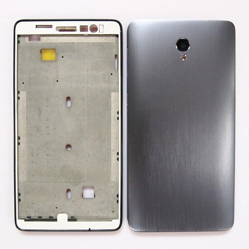 imágenes para 100% Nuevo Marco Frontal Pantalla LCD Marco de La Puerta de La Batería Contraportada Caso de Vivienda Para Lenovo S860 Sin Botones de Volumen de Energía