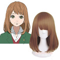 Japan Anime Orange Takamiya Naho Cosplay Wig Women Synthetic BOBO COS Party Lolita Wigs Free Shipping