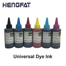 6COLOR Universal Dyel Ink Compatible For HP for Epson  for Canon  for Dell Printer Ink & Ciss Ink цена в Москве и Питере