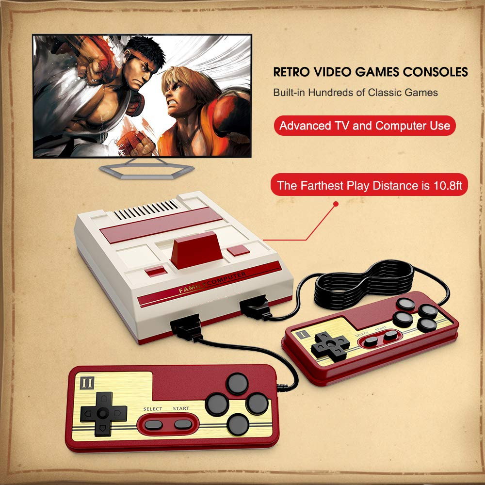 Console de vídeo Game tetris Crianças Clássicos retro Game Consoles dendy escolher para comprar para as crianças presentes HDMI 4K TV 632 jogos