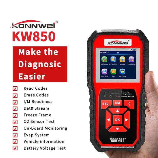 Escáner automotriz OBD OBD2 AL519 NT301 lector de código de Falla con herramienta de diagnóstico de coche ODB2 en varios idiomas escáner automático