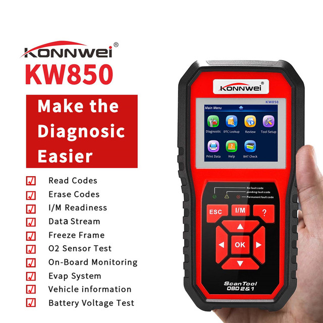 OBD OBD2 AL519 NT301 Automotive Scanner Fehler Code Reader Mit Multi sprache ODB2 Auto Diagnose Werkzeug Auto Scanner